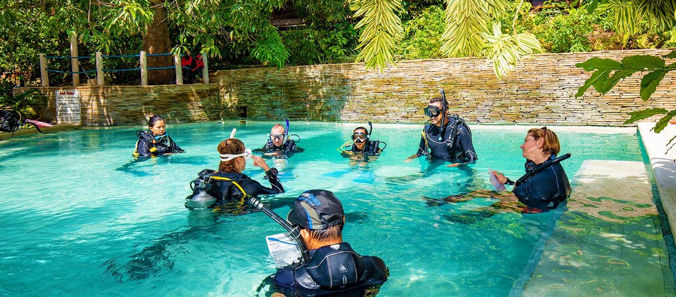 padi idc schedules asia divers puerto galera