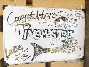 pad divemaster course puerto galera asia divers