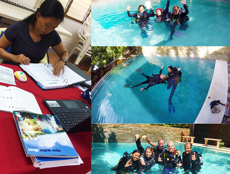 padi assistant instructor course asia divers puerto galera