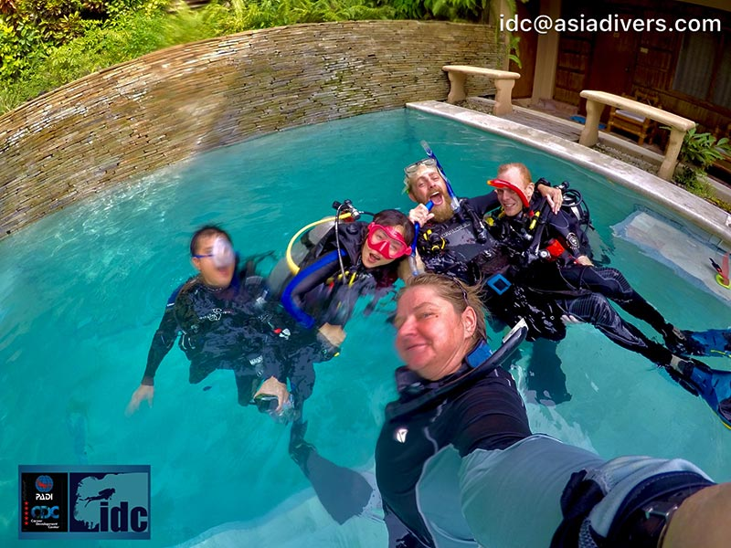 padi idc instructor course puerto galera philippines