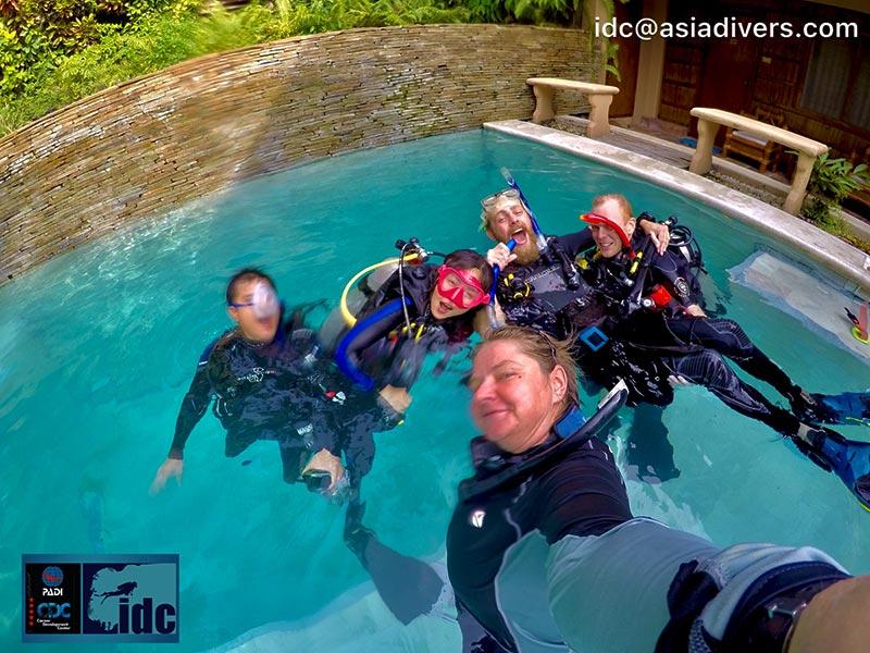 padi idc instructor course puerto galera philippines