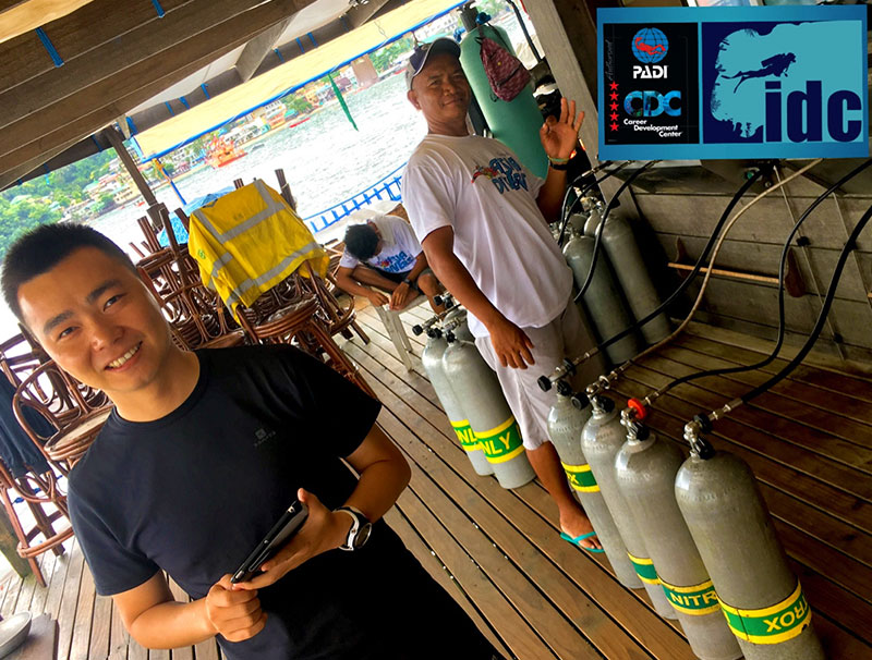 padi nitrox instructor course puerto galera