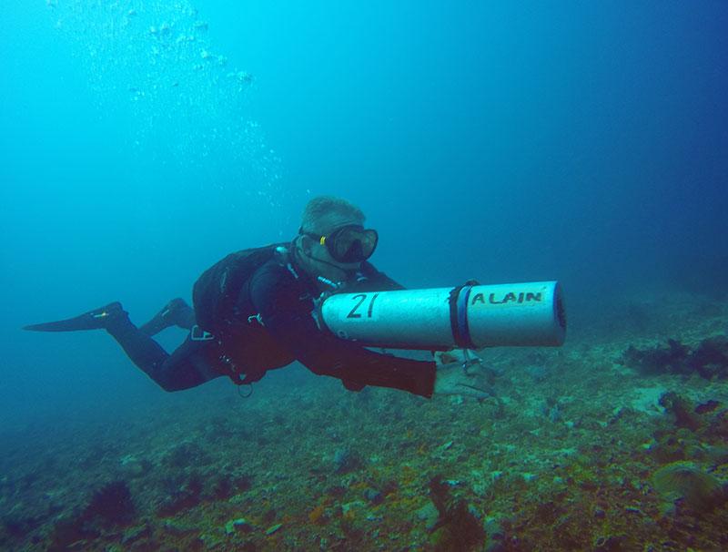 padi sidemount instructor course puerto galera