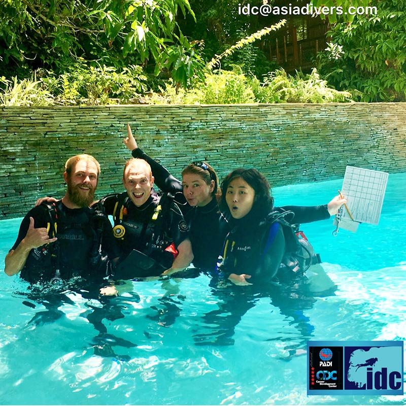 staff audit padi instructor course puerto galera philippines