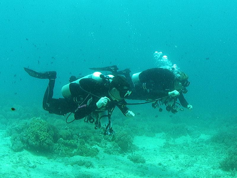 tech diver training puerto galera