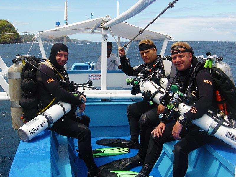 tech diving rates tech asia puerto galera