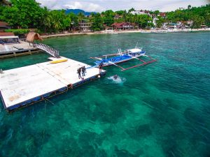 asia divers dive dock