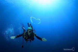 padi scuba diving puerto galera diver