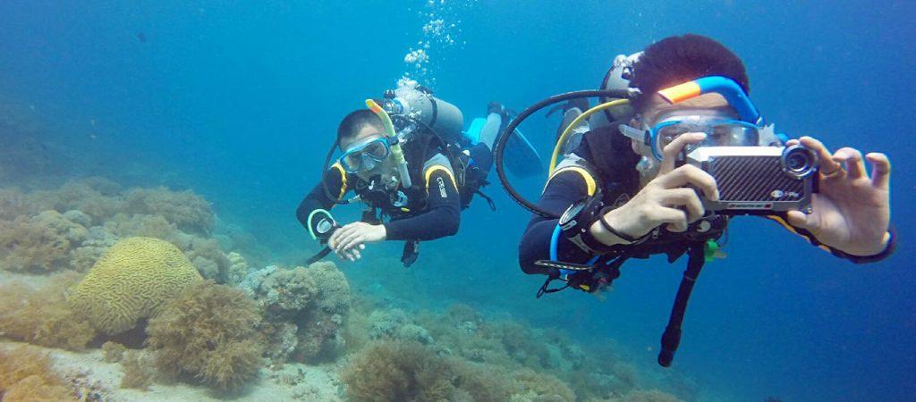 padi divemaster course asia divers puerto galera