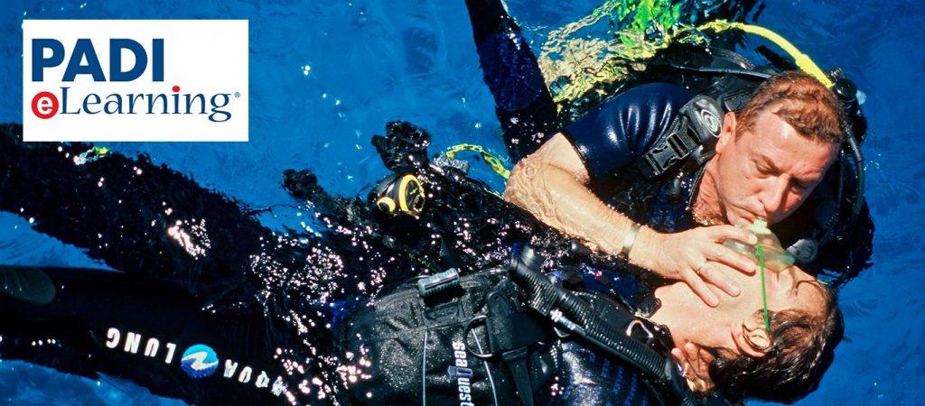 padi elearning rescue diver course asia divers puerto galera