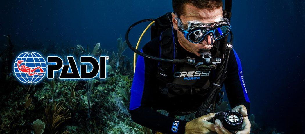 padi navigation diver course puerto galera