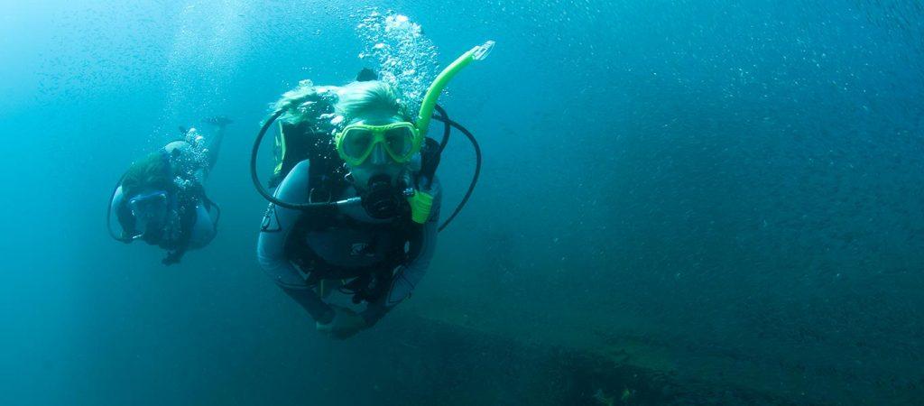 padi open water diver course asia divers puerto galera