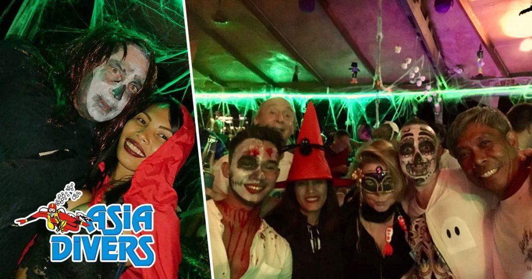 asia divers puerto galera halloween party 2108