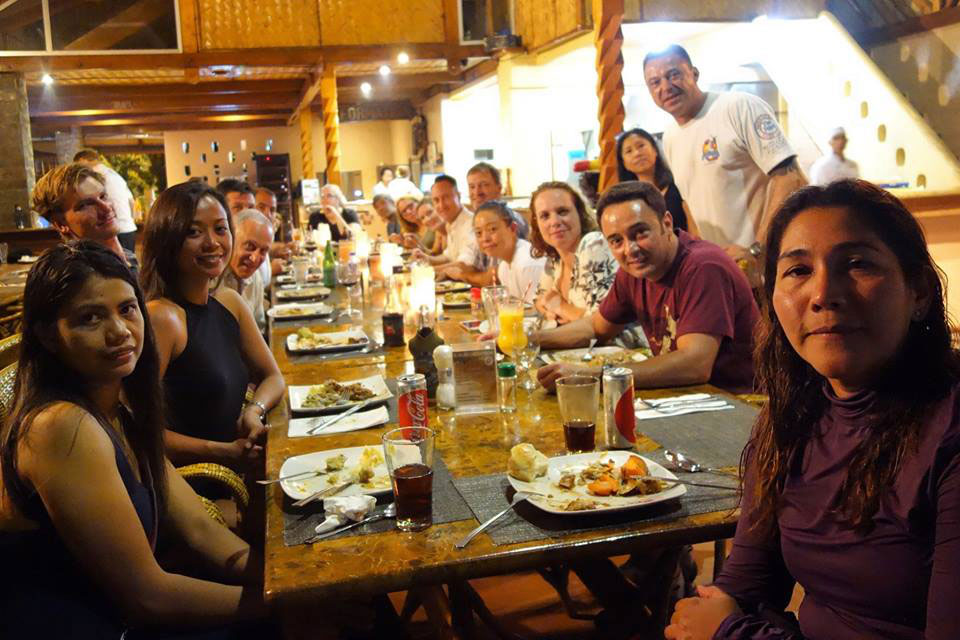 asia divers puerto galera thanksgiving