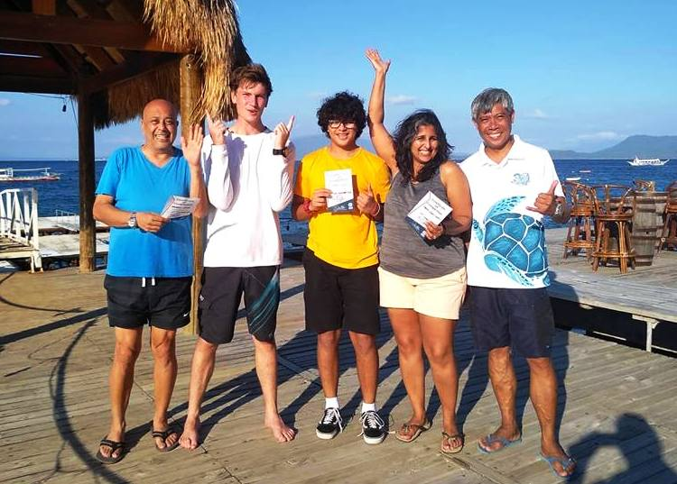 discover scuba diving puerto galera asia divers