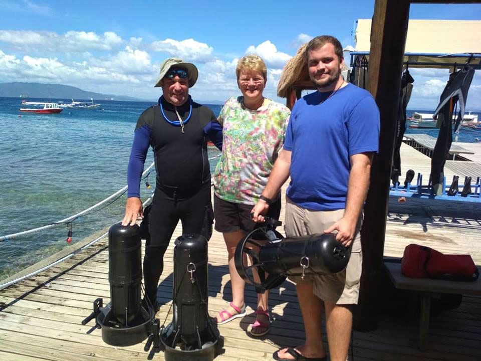padi advanced open water course nitrox course dpv specialty asia divers puerto galera