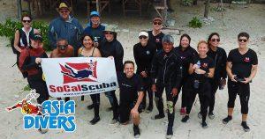 social scuba dema underwater photography asia divers