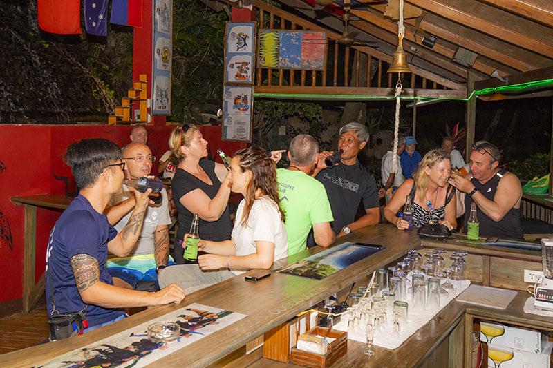 the point bar puerto galera el galleon resort