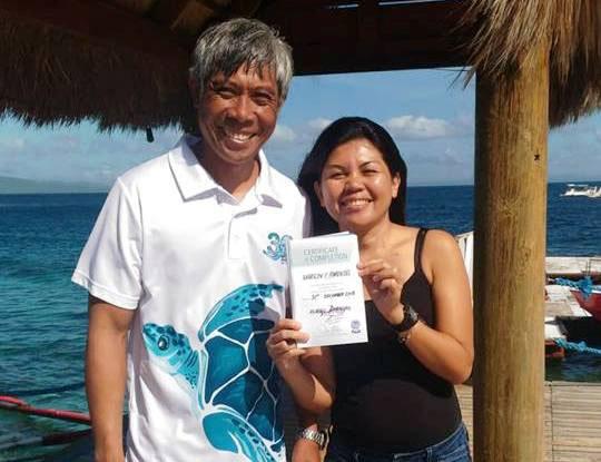 discover scuba sabang puerto galera asia divers