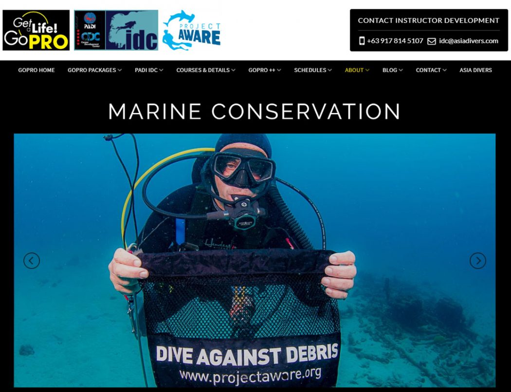 marine conservation in puerto galera philippines