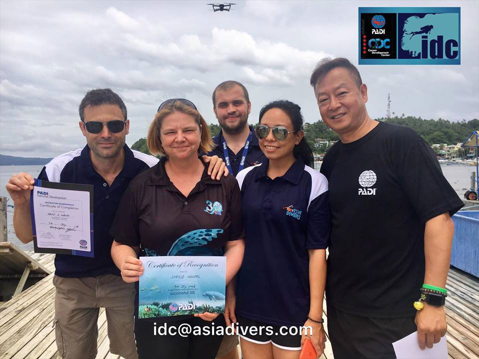 padi eidc 2019 asia divers puerto galera