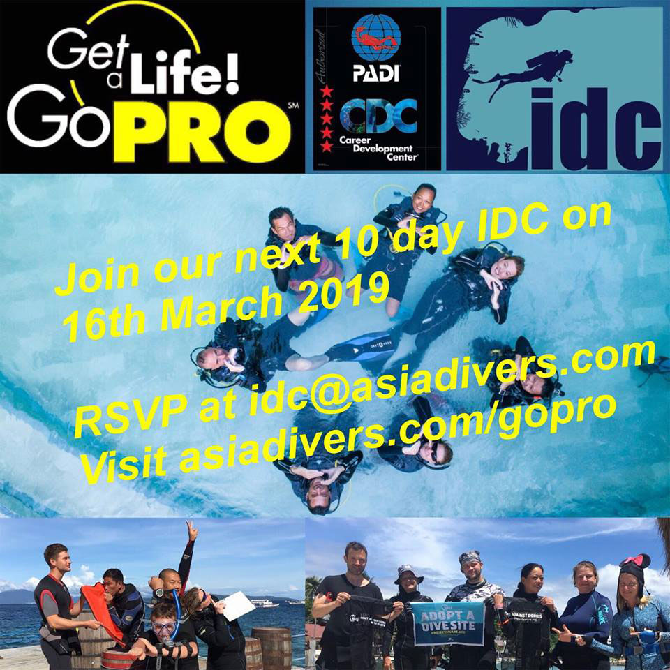 padi instructor idc puerto galera philippines march 2019