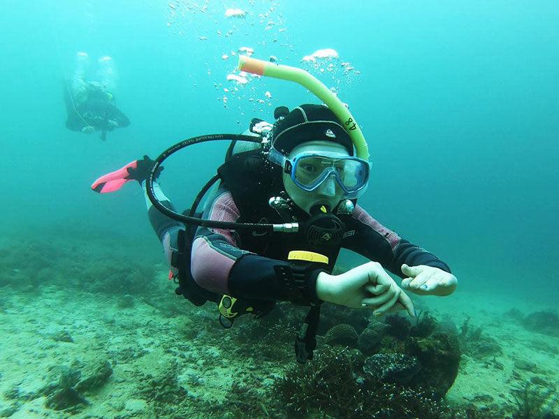 scuba diver buoyancy asia divers