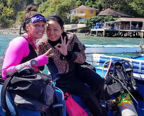 100 dives in Puerto Galera at Asia Divers