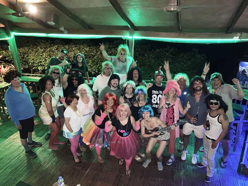 80s wig party point bar puerto galera