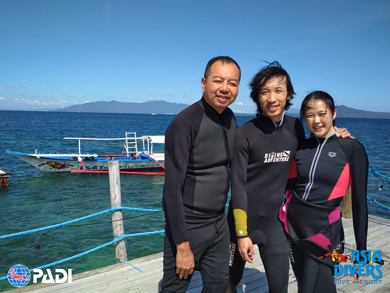 Diving Adventure Travel Hong Kong at Asia Divers Puerto Galera