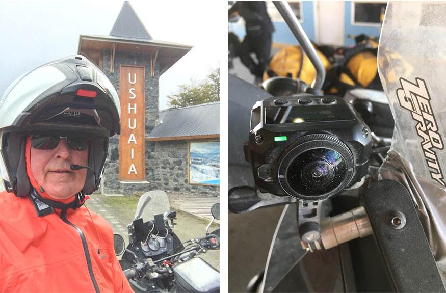 Ushuaia motorbike adventure