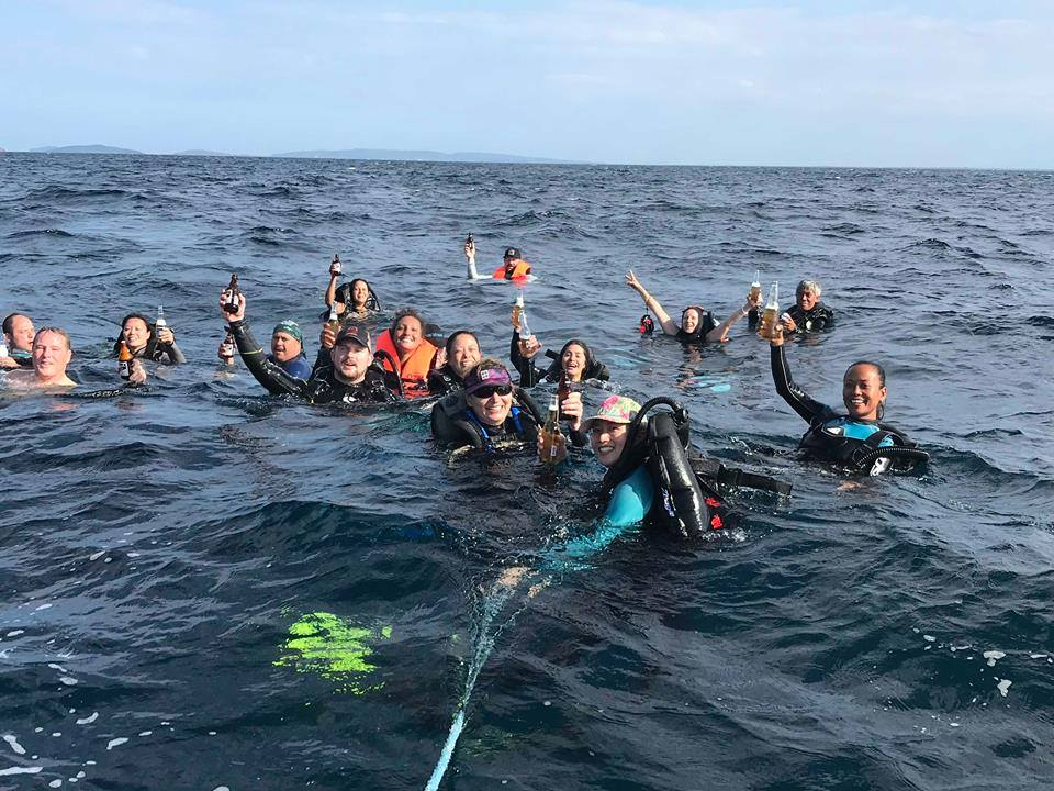 bcd party asia divers verde island