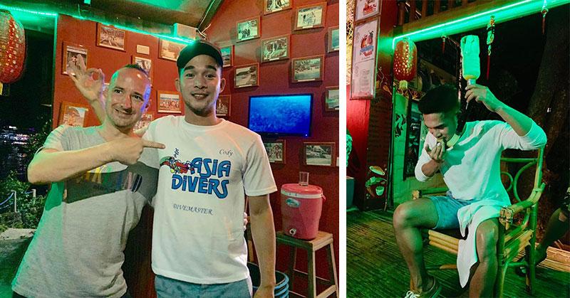 padi divemaster internship asia divers sabang puerto galera
