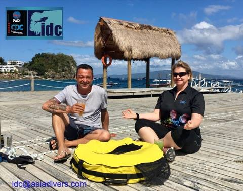 padi freediver course sabang puerto galera asia divers