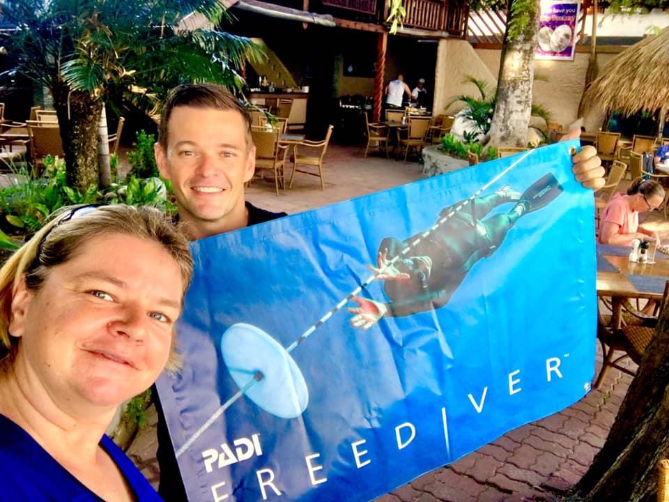 padi freediving puerto galera asia divers