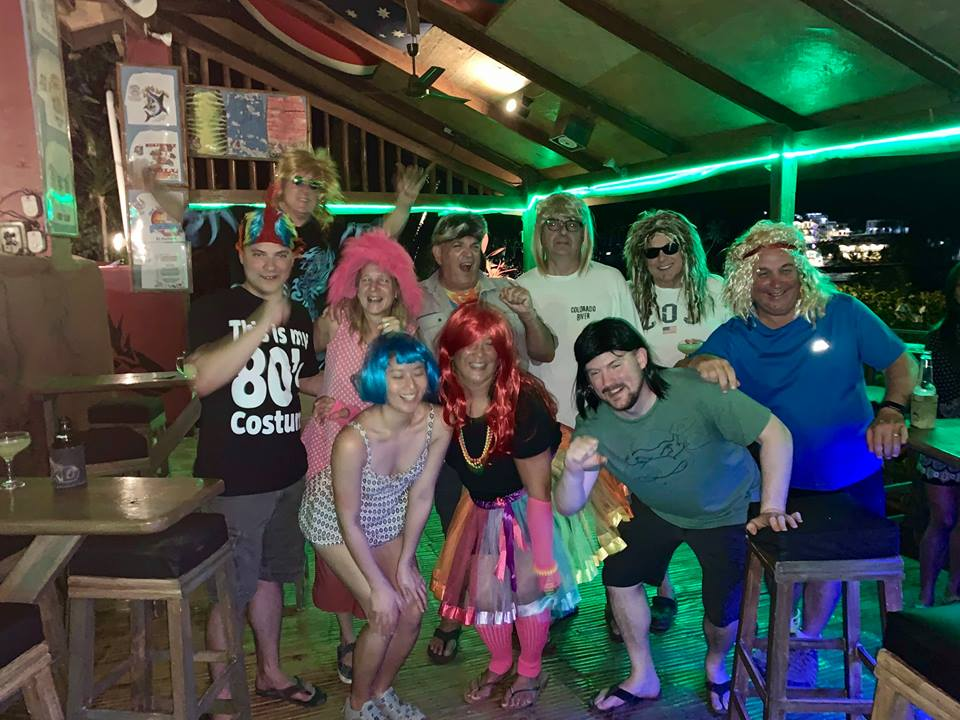 80s party sabang point bar