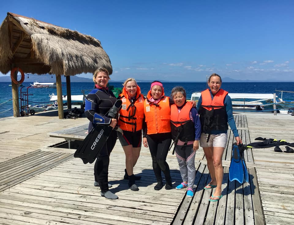 snorkeling in Puerto Galera with Asia Divers