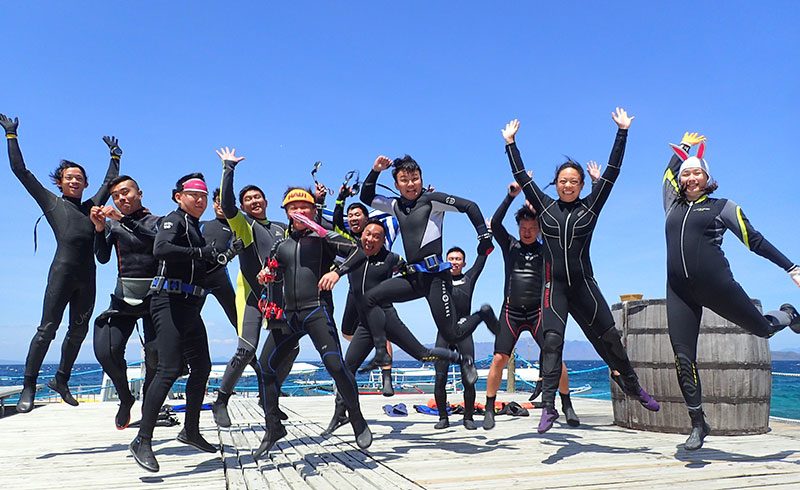 Diving Express Hong Kong at asia divers puerto galera