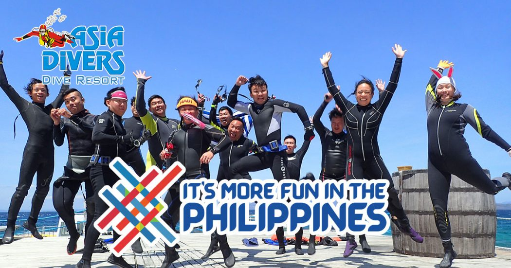 asia divers el galleon resort adex 2019 more fun in the philippines