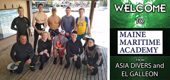 maine maritime academy puerto galera asia divers