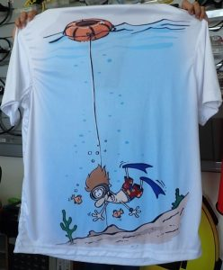 padi freediver shirt from Asia Divers Puerto Galera