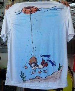 padi freediver shirt from Asia Divers Puerto Galera
