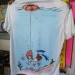 padi freediver shirt