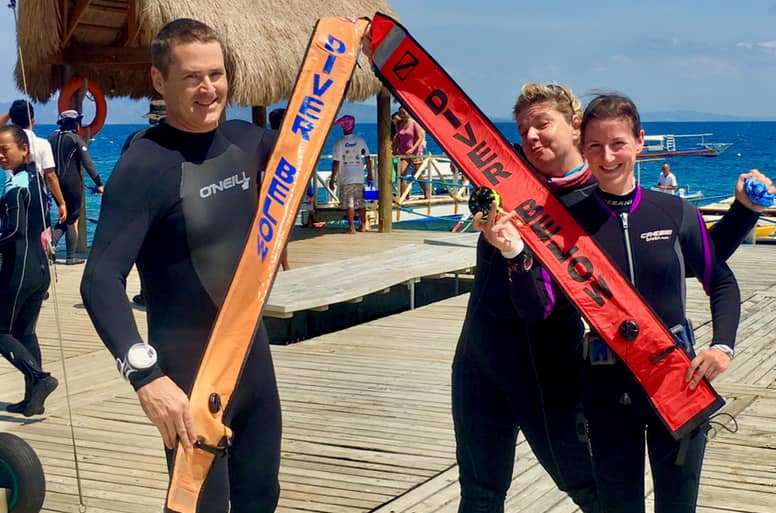 dsmb specilty course asia divers philippines