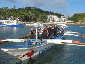 asia divers scuba diving boat philippines
