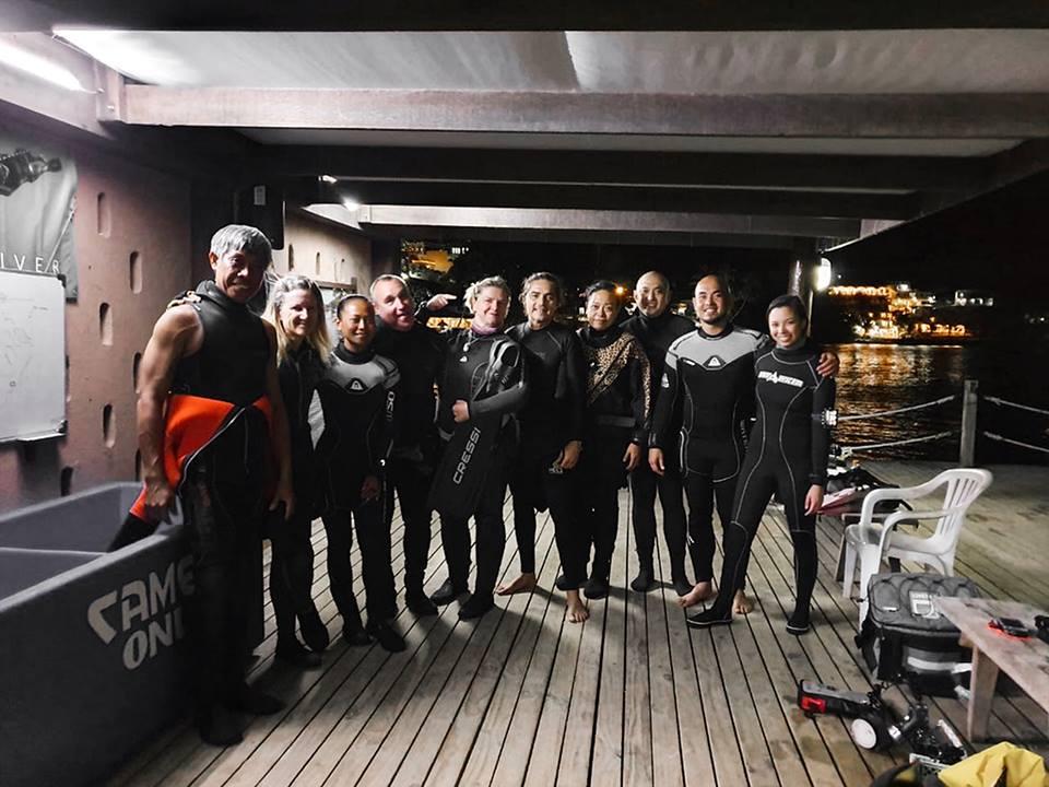 blackwater diving puerto galera asia divers