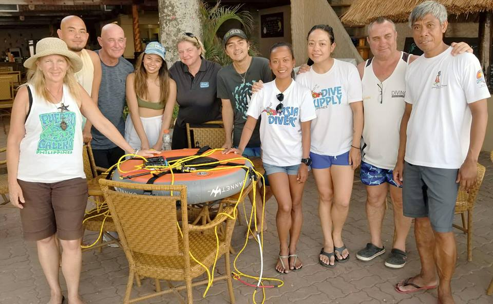 blackwater diving with Asia Divers Puerto Galera