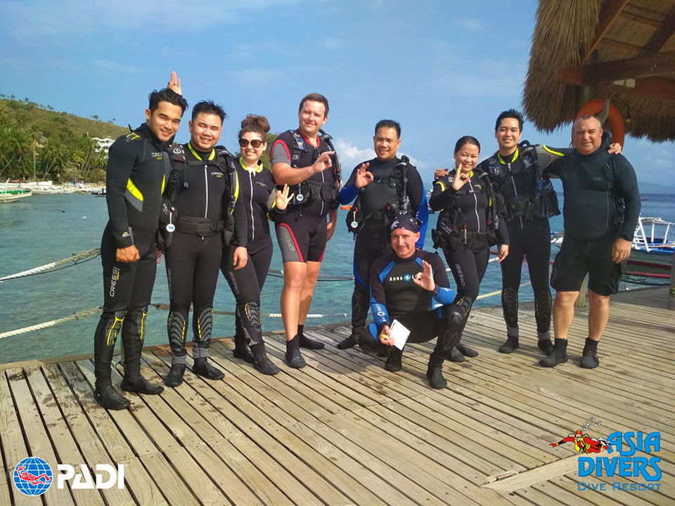 discover scuba diving at asia divers puerto galera philippines
