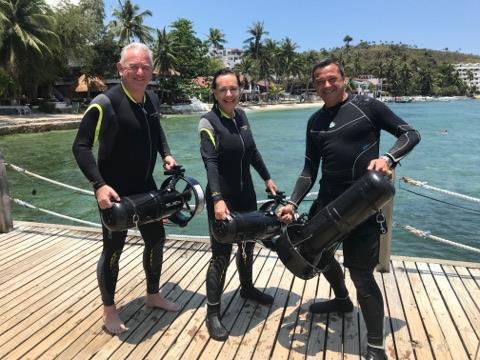 dpv diving philippines asia divers