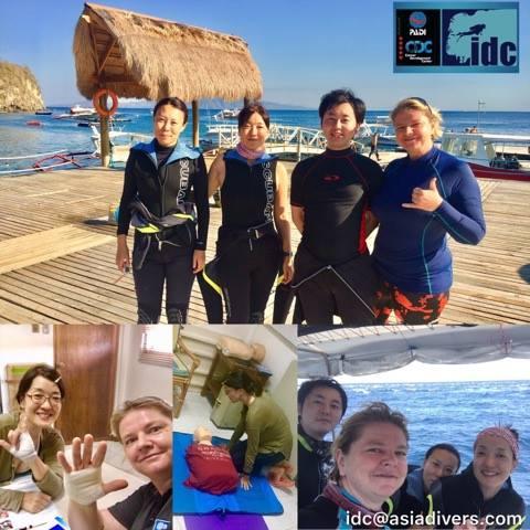 efr rescue diver courses philippines puerto galera